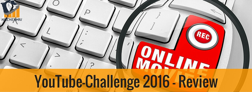 YouTube-Challenge 2016 - Review