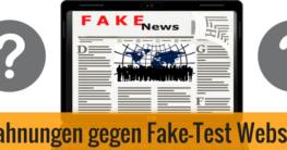 Fake Test Nischenseiten Abmahnungen